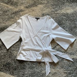 Express Front Tie Blouse